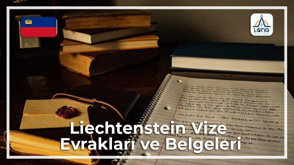 Vize Evrakları Ve Belgeleri Liechtenstein