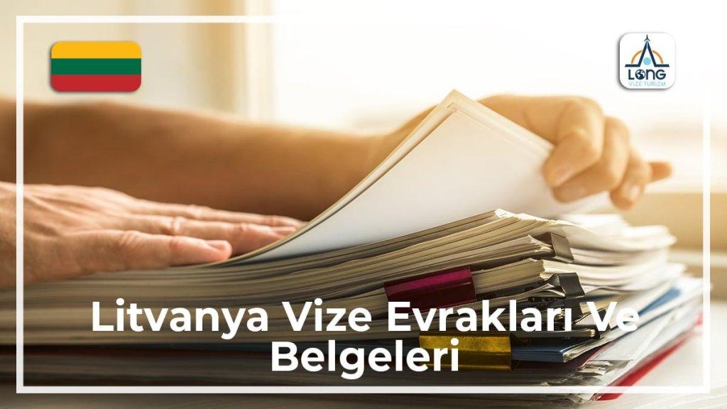 Vize Evrakları Ve Belgeleri Litvanya