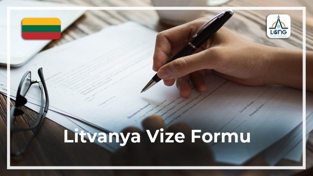 Vize Formu Litvanya