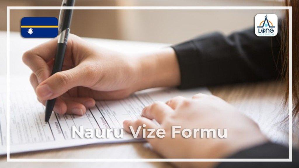 Vize Formu Nauru