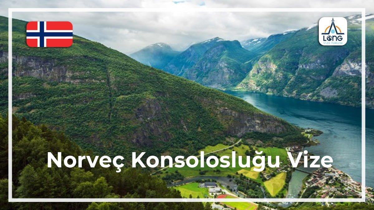 Konsolosluğu Vize Norveç