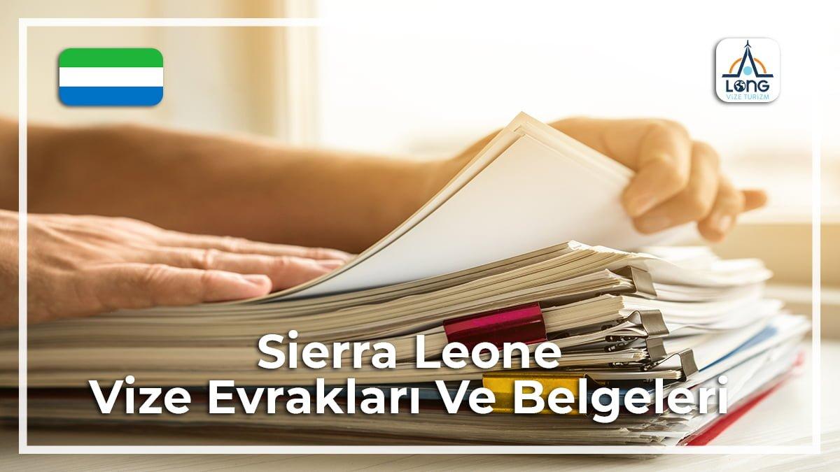 Vize Evrakları Ve Belgeleri Sierra Leone