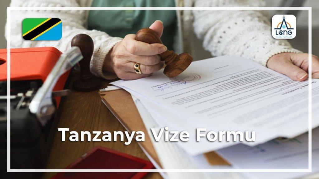 Formu Vize Tanzanya