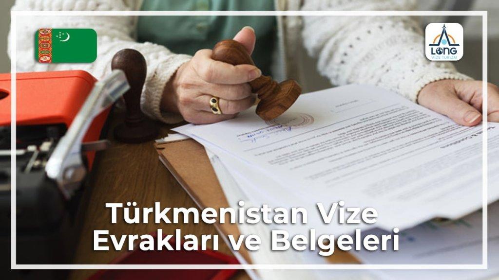 Belgeleri Ve Evrakları Vize Türkmenistan