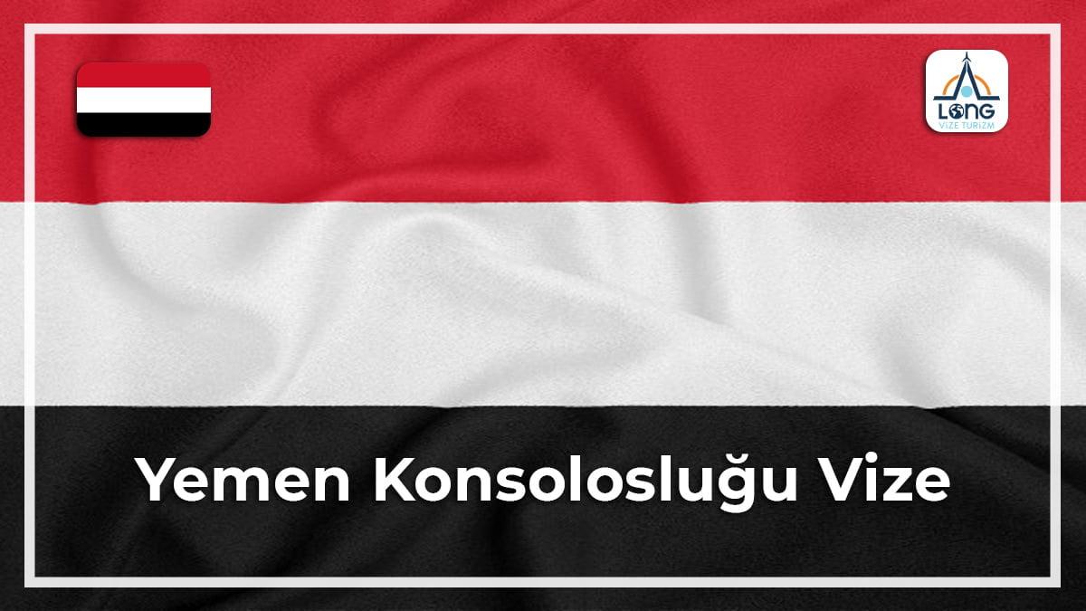 Konsolosluğu Vize Yemen