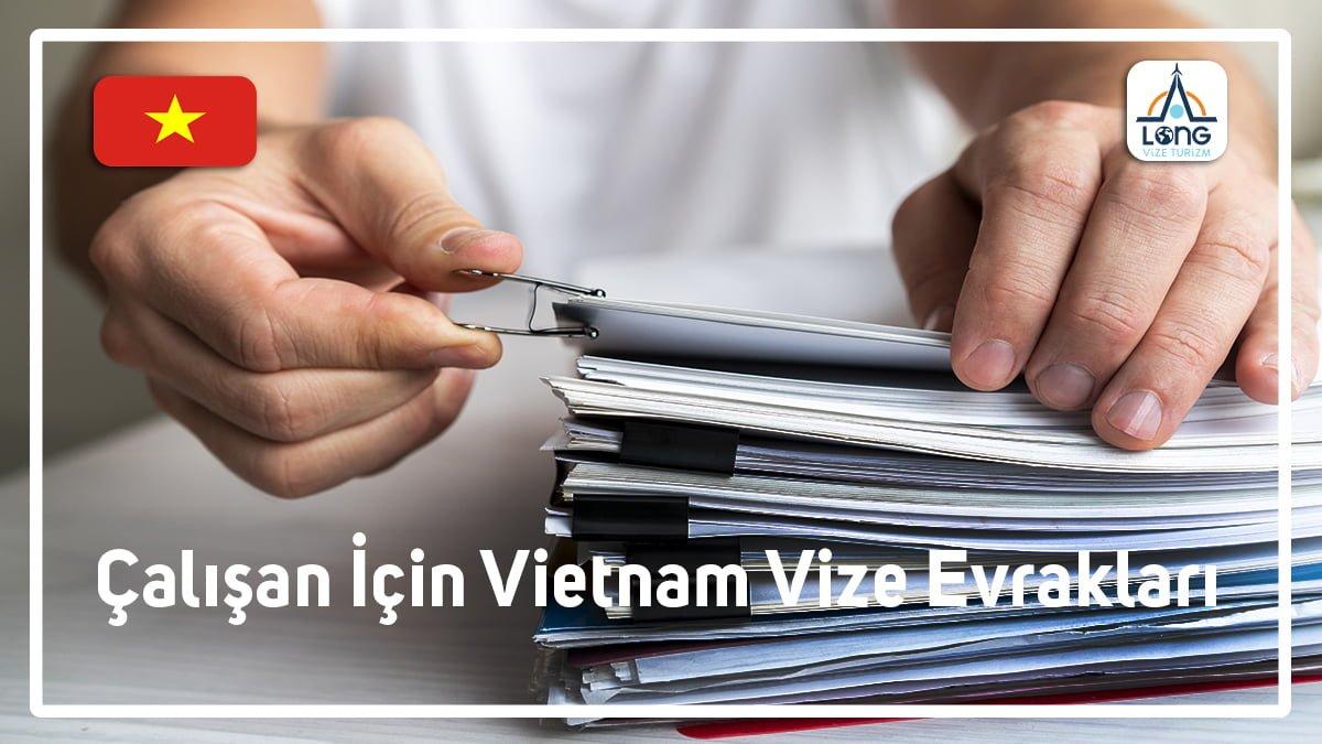 Vize Evrakları Çalışan İçin Vietnam