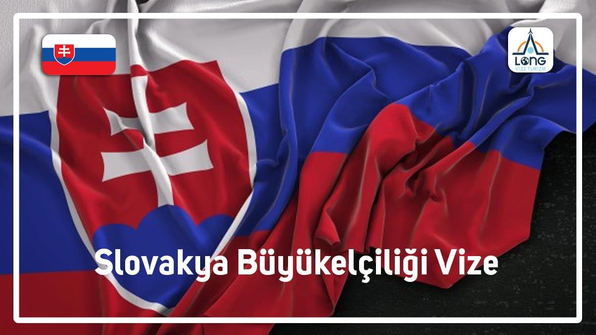 Büyükelçiliği Vize Slovakya
