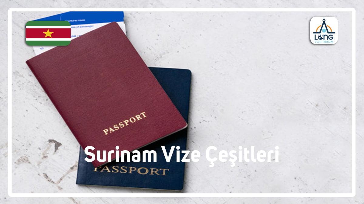 Vize Çeşitleri Surinam