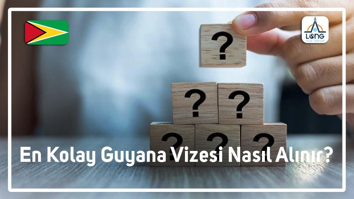 Guyana Vizesi En Kolay Nasıl Alınır
