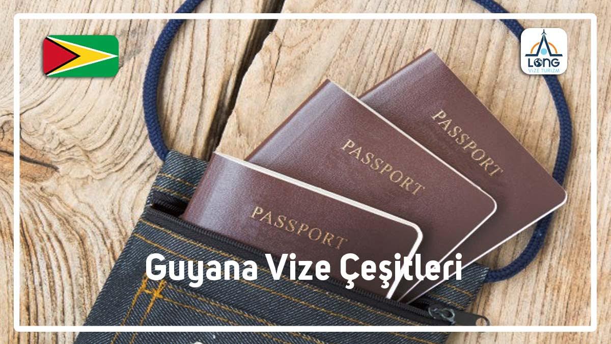 Vize Çeşitleri Guyana