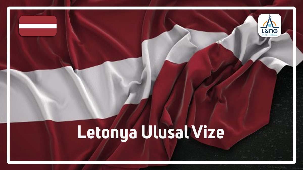 Ulusal Vize Letonya
