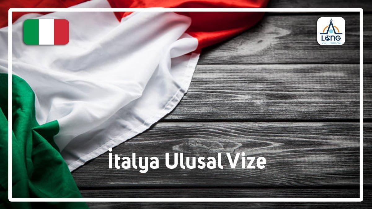 Ulusal Vize İtalya