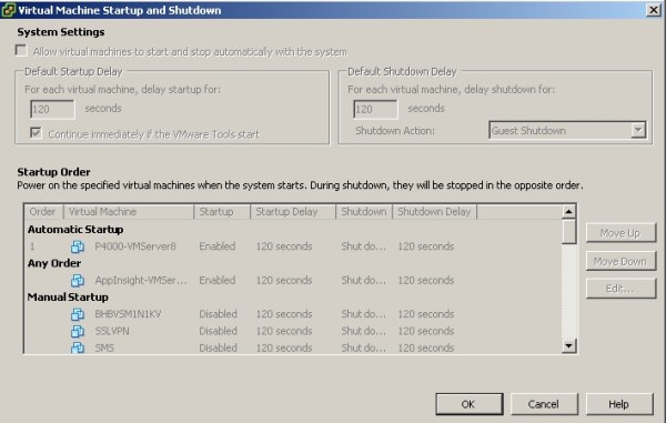 Auto Start Disabled After vSphere 5 Update 1