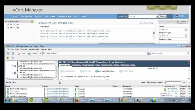 Automating vSphere SSL Cert Management – vCert Manager Beta Demo