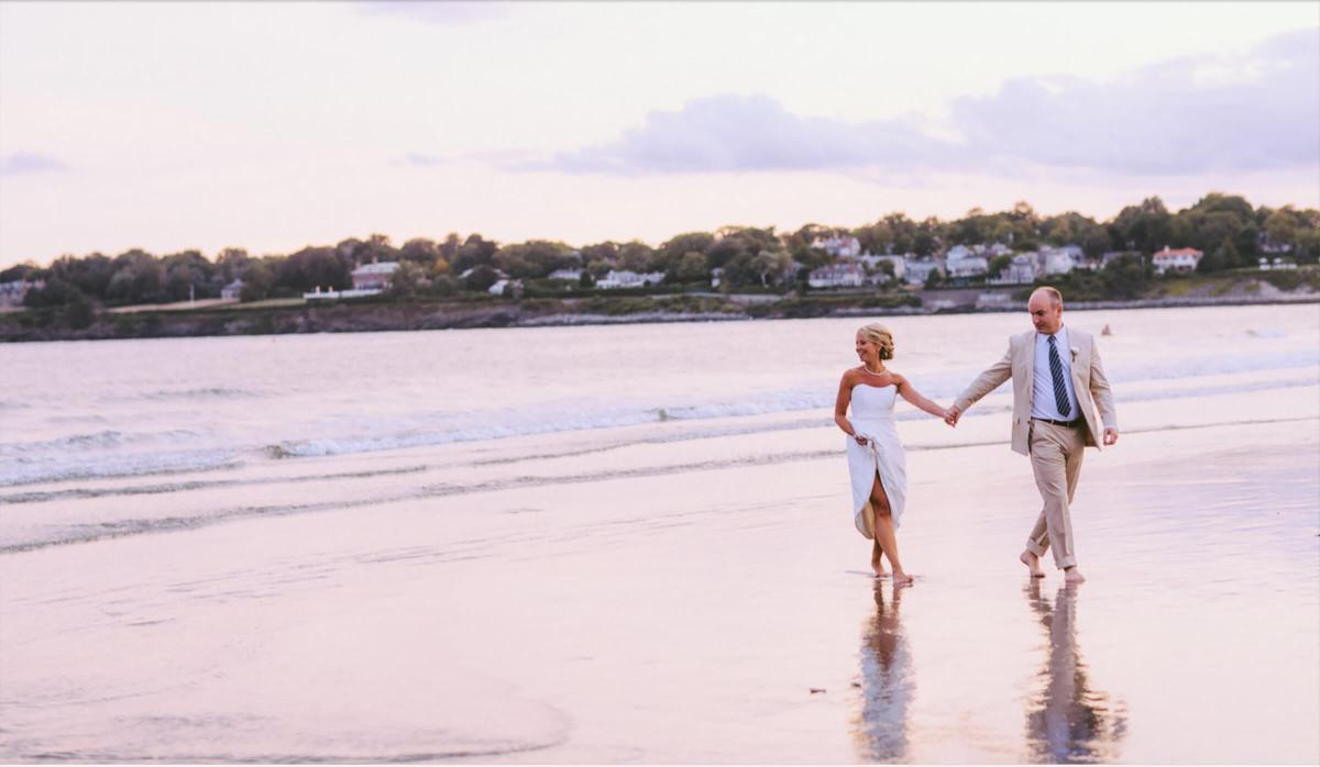 Newport Rhode Island-Beach Wedding Ceremony Luxury
