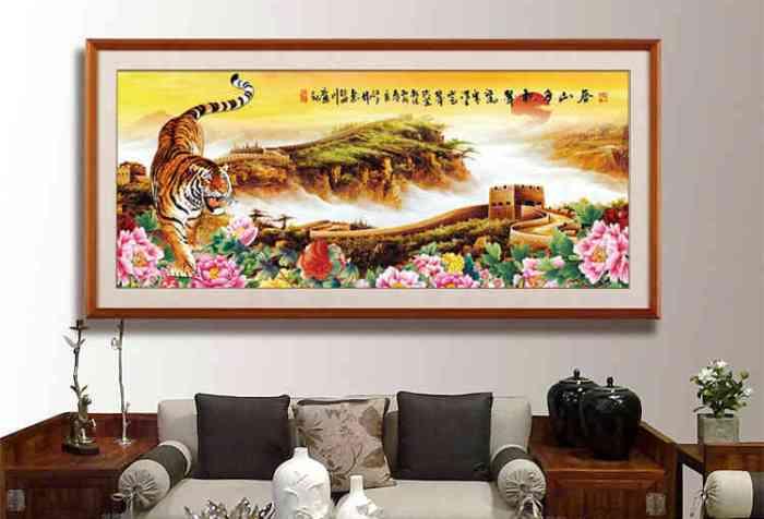 陈巃羽风水阳宅之猛虎图