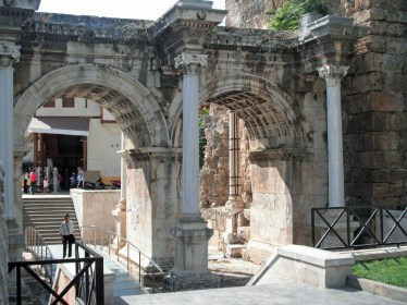 Hadrian's Gate Front