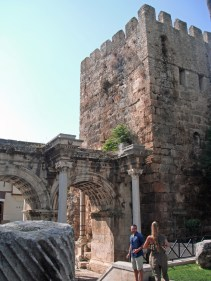 Hadrian's Gate & Tower