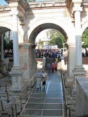 Hadrians Gate Back