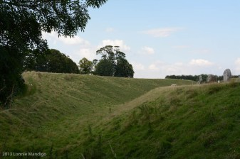 Avebury Berm and Trench