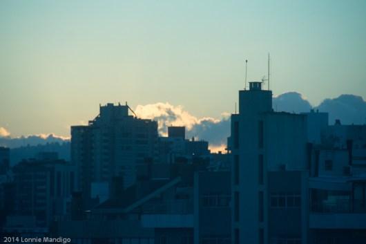 Dawn in Porto Alegre