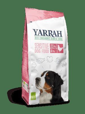 Koeratoit Orgaaniline kuivtoit YARRAH tundlikule koerale 2kg kana