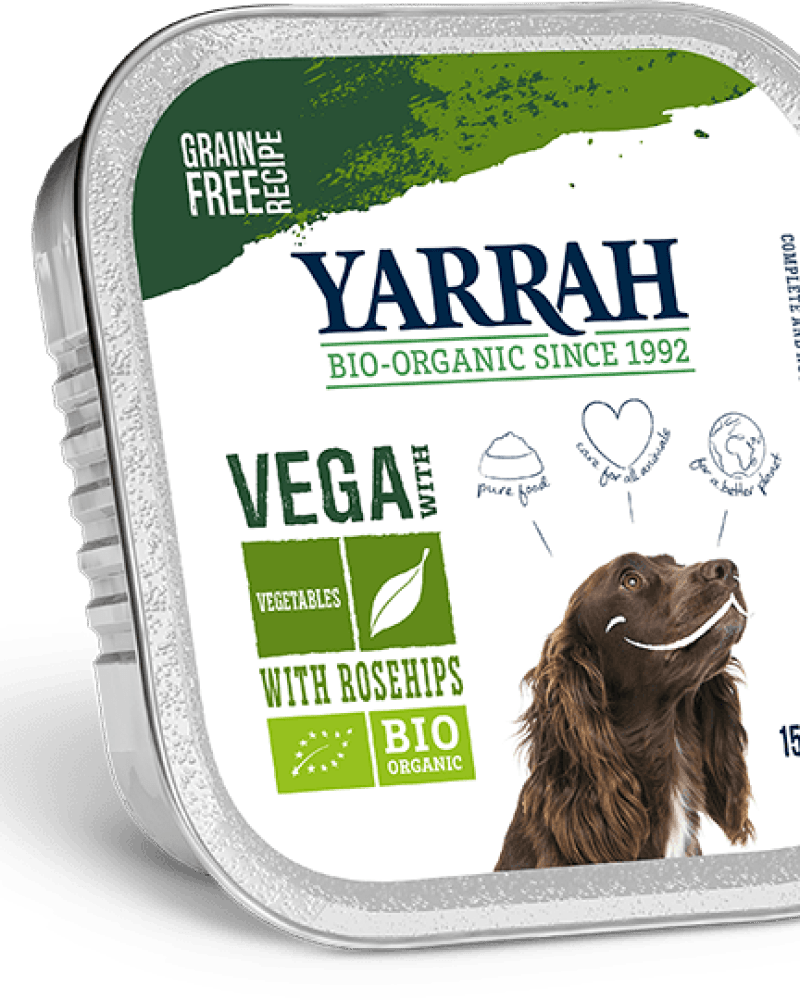 Orgaaniline VEGAN koeraeine YARRAH 150g
