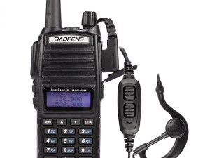RADIO BAOFENG UV 82 DOBLE BANDA VHF/ UHF / FM/ ESCANER