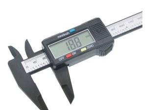 Micrometro calibrador de LCD 150 mm digital fibra de carbon