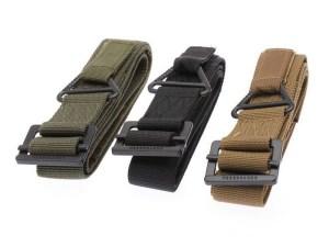 Cinturon Tactico Militar rapel hebilla metalica mayoreo F-402