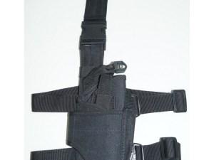 Funda para pistola ajustable piernera muslera Falcon Fuerzas Especiales