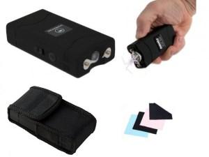 Stun Gun Paralizador mini Taser lampara recargable portatil
