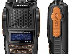 Radio Baofeng UV – 6R Doble banda waterproof 8 wats