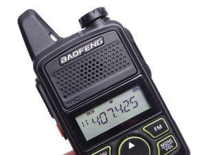 Radio Baofeng BF-T1 mini Walkie Talkie Dual