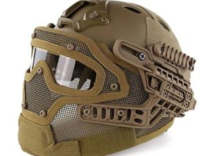 Casco Militar Tactico Completo Gotcha Paintball Airsoft M16
