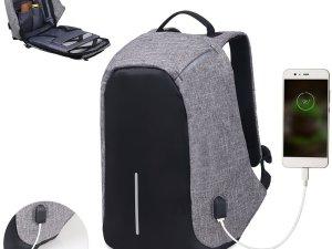 Mochila Inteligente Antirobo Carga Usb Celular Laptop iPad
