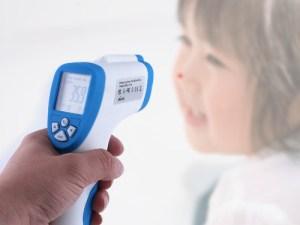 Termometro laser sin contacto para uso medico