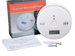 Detector Digital De Monoxido Carbono Fuego Incendios Hogar