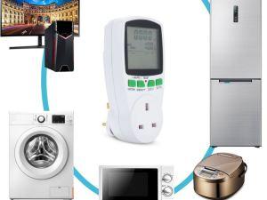 Medidor digital de consumo de energia electrica