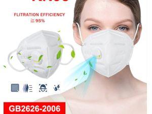 Cubrebocas Mascara KN 95 Respirable PM2.5 Antigripal Antiniebla antipolvo 95% Filtracion