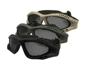 Lentes gafas de malla para proteccion gotcha airsoft paintball