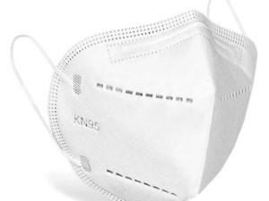 50 cubrebocas mascara KN95 institucional comercial