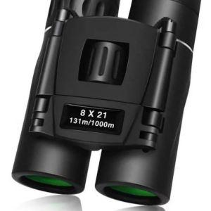 Binoculares Mini Prismáticos Pequeños 8×21 Compacto Portatil
