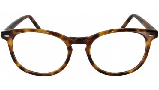 Runde Brille im Havana Look