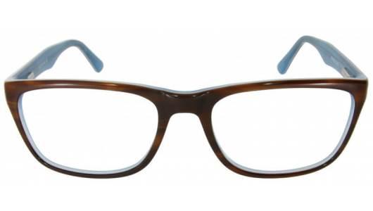 Türkis braune Vollrandbrille