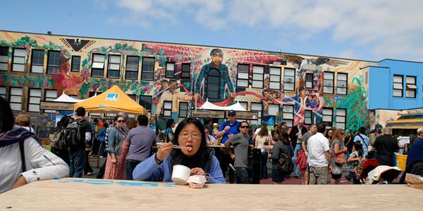 Eater at San Francisco Street Food Festival