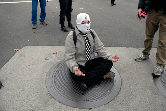 Meditating as Protest