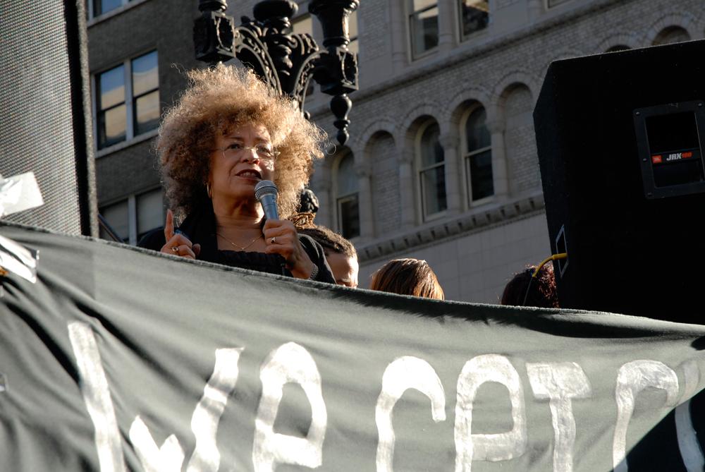 Angela Davis at Occupy Oakland General Strike