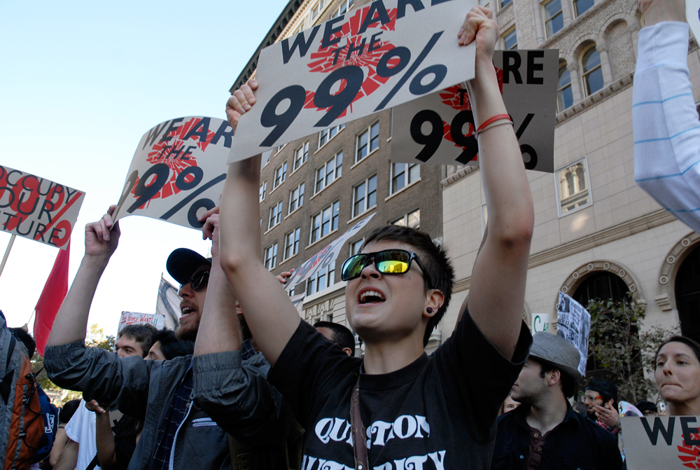 We Are The 99% - Question Authority