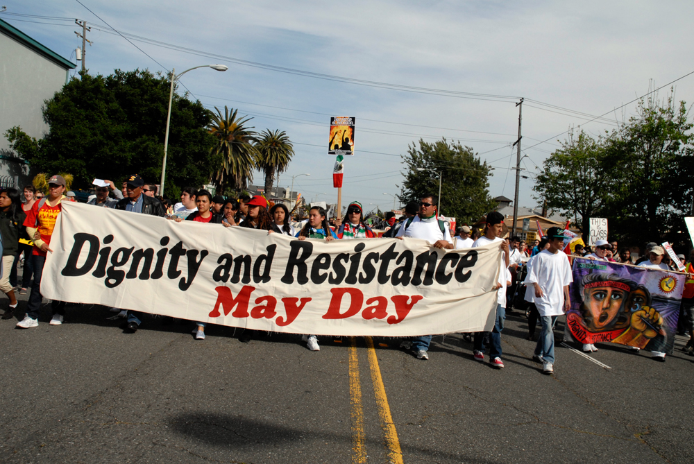 May Day March in Oakland - Dignity and Resistance